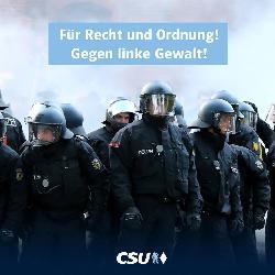 G20: DPolG verurteilt gewalttätige Ausschreitungen