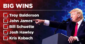 USA: Trump-Vertraute gewinnen fünf von fünf Zwischenwahlen