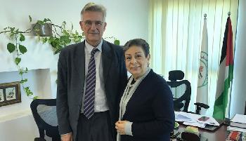 Der undiplomatische deutsche Diplomat in Ramallah