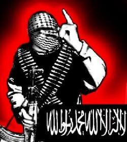 Terrorist bei Messerangriff erschossen