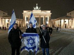 Berliner gedenken Terroropfer von Jerusalem