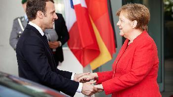 Deutschland und Frankreich schließen Aachener Vertrag