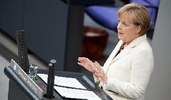 Pressestatement von Bundeskanzlerin Merkel beim Informellen Treffen des Europäischen Rates