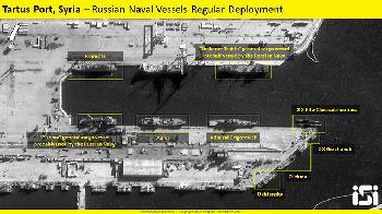 Syrien: Russisches Militär vertreibt Iran aus Marinehafen in Tartus