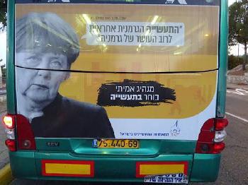 Israelischer Wahlkampf mit Merkel?