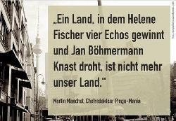 Lesetipp: In Sachen Böhmermann