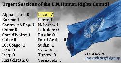 Terroropfer klagen UN-Menschenrechtsrat an, den palästinensischen Terror weiß zu tünchen