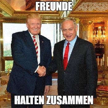 US-Präsident Trump begrüßt Netanyahus Wahlsieg