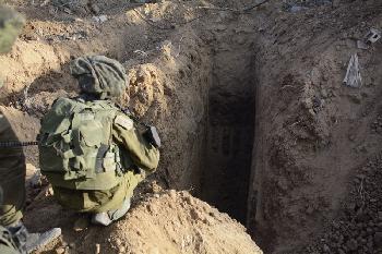 Israelische Armee entdeckt weiteren Terrortunnel der Hamas