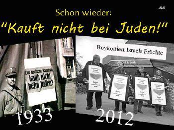 Boykottaufruf gegen eine Friedensdemo
