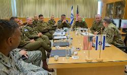 IDF-Stabschef trifft US-Kommandanten