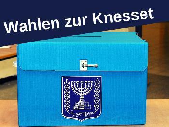Knesset-Wahl 2019: Bislang kein amtliches Ergebnis