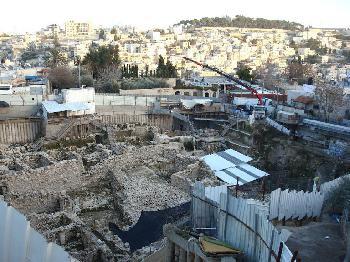 Die Davidstadt und das Problem der Teilung Jerusalems
