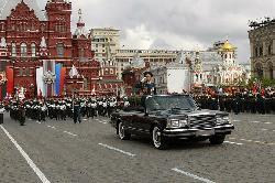 Moskau am Tag des Sieges