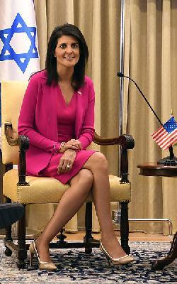 Video: Nikki Haley besucht Yad Vashem