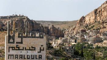 Im syrischen Dorf Maaloula ist die Sprache Christi in Gefahr