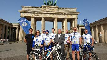DPolG Spendentour 2019 erreicht Berlin