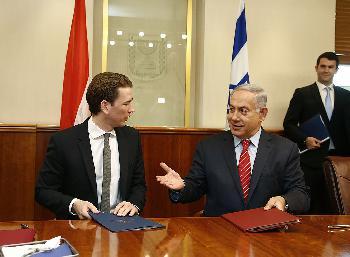 Weitere Blickwinkel zum Besuch des österreichischen Kanzlers in Israel