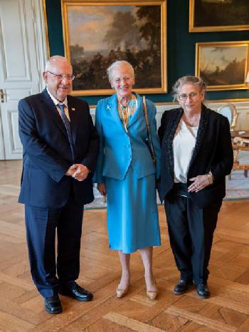Staatspräsident Rivlin in Dänemark