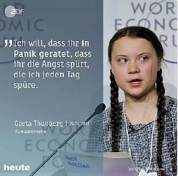 Gretas Wutrede vor der UN war eine Kopie!