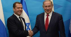 Medwedew in Israel: Gemeinsam gegen den Terror kämpfen