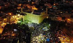 35.000 Juden feiern Shabbat in Hebron