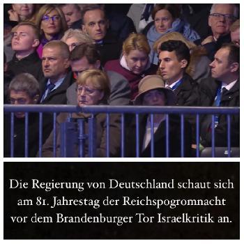 9. November in Deutschland - Juden werden aufgefordert, wieder Opfer zu sein