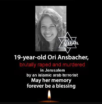 Ori Ansbacher - das jüngste Opfer antisemitischen Mordterrors
