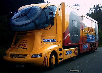 Mehr Verkehrssicherheit durch Lkw-Kontrollen