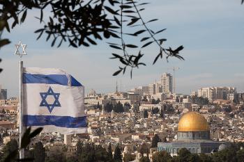 Israelische Fahne auf dem Tempelberg verärgert PA