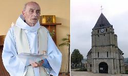 Wird Europa ablehnen zu knien, wie der heroische französische Priester?