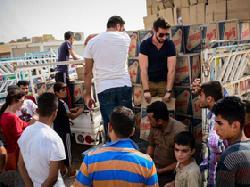 IsraAID hilft Flüchtlingen