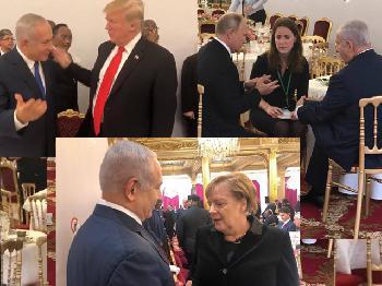 Premierminister Netanyahu in Paris
