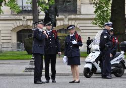 Frankreichs Krieg gegen Feuerwehr und Polizei