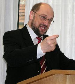 Solidarität mit israelischem Protest gegen EU-Parlamentspräsident Martin Scholz