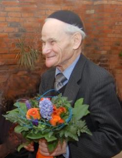 91 Mal mit Gott und der Welt. Gratulor Rebbe