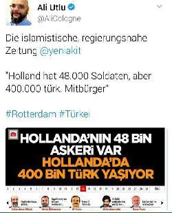 Ankaras Amoklauf gegen die Niederlande und Europa