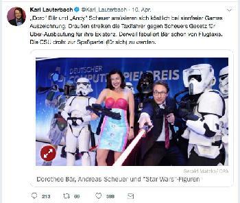 Voll peinlich, Herr Professor Lauterbach!