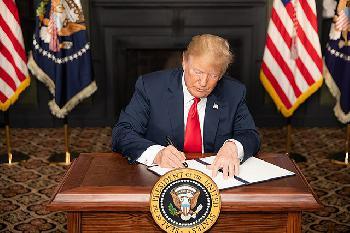 Erster Jahrestag der neuen Iran-Strategie von US-Präsident Trump