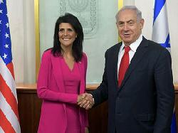US-Botschafterin bei den UN Haley in Israel