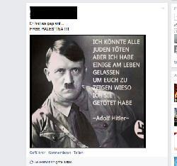 """Zusammen mit Islamisten und """"Adolf"""" gegen Juden und Israel?"""
