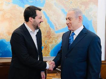Italienischer Innenminister zu Gast in Israel ]Video]
