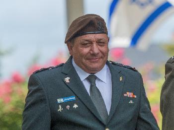 Generalstabschef Eizenkot verabschiedet