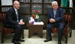Trump-Gesadnter: Abbas muss gegen anti-israelische Hetze vorgehen