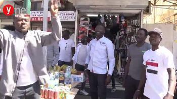 Sudanesen in Tel Aviv feiern den Sturz von Diktator Bashir