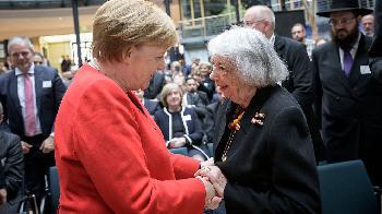 Merkel: Menschenwürde nicht verhandelbar