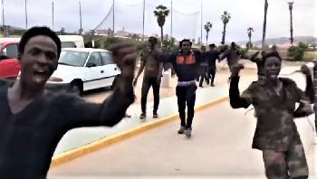 Melilla: Brutaler Ansturm auf Europa [Video]