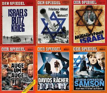Eine antisemitische Räuberpistole des `Spiegel´