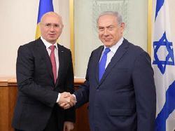 Moldawischer Premierminister in Israel