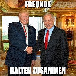 Unterstützung für Trump unter Israelis ungewöhnlich hoch
